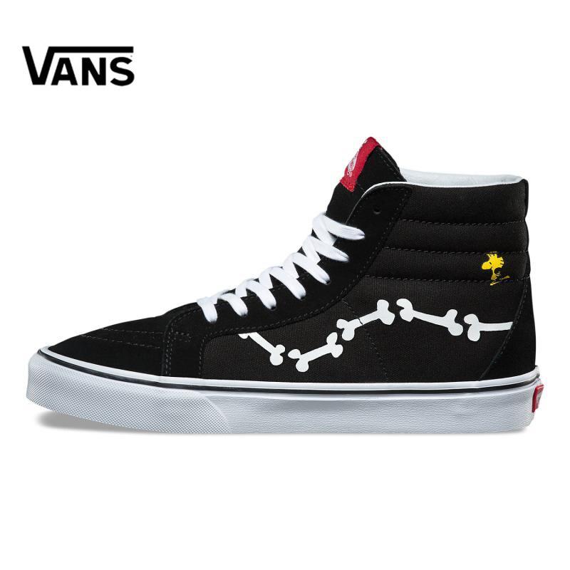 Original New Arrival Vans X PEANUTS Men's & Women's Classic SK8-Hi Skateboarding Shoes Sneakers Canvas Comfortable VN0A2XSBOHL original new arrival vans x peanuts men s