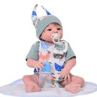 Lifestyle 23 ''полный виниловые силиконовые младенцы куклы реалистичные New Born кукла мальчик игрушки 57 см ручной работы мультфильм Bebe reborn Модель