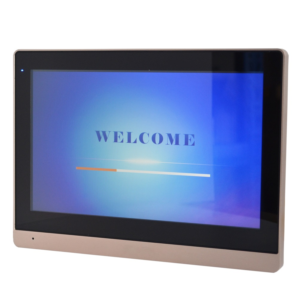 Image 5 - DH logo Multi Language VTH1660CH 10inch Touch Indoor Monitor,IP doorbell, Video Intercom,wired doorbell-in Indoor Monitor from Security & Protection