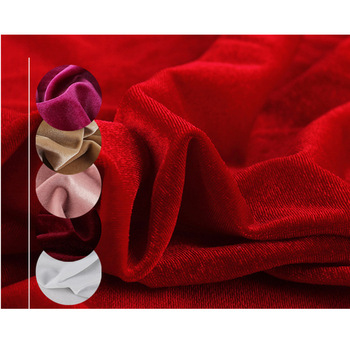 23Colors Stretch Velvet Fabric Velour Spandex Cloth for Dress Curtain Dolls Sewing Knitted Fabrics Silk Feeling Pleuche Fabric
