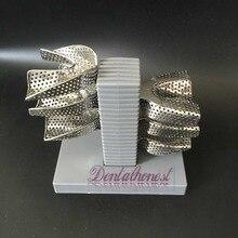 1 piece Dental Lab Impression Tray Plaster Holder Stand+6PCS Dental Tray
