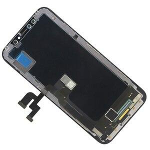 Image 2 - Originele Kwaliteit Voor Iphone X Lcd scherm Touch Screen 5.8 Inch Digitizer Vergadering Vervanging 100% Voor Iphone X Tianma Tft lcd