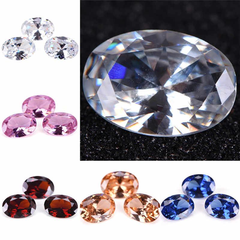 Decorative Crafts Hot Sale Unheated Gem Yellow Sapphire Oval Shape AAA Natural Loose Gemstone Diamond DIY Jewelry 10x14mm