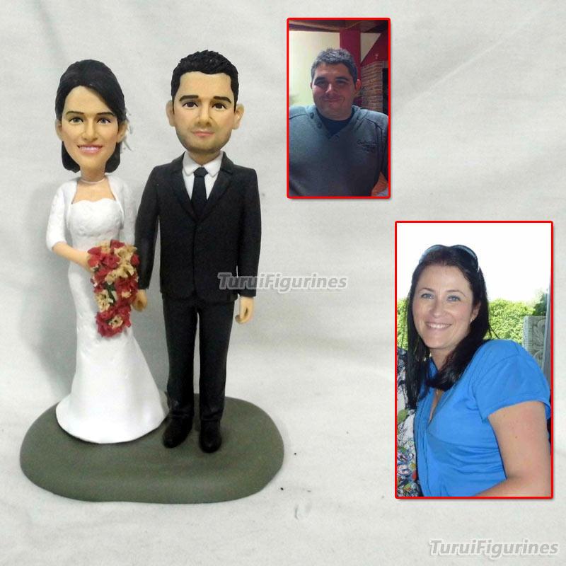 Cadeau d'anniversaire personnalisé Bobblehead personnalisé couple bobblehead cadeau d'anniversaire pour les parents souvenir moment précieux miniature
