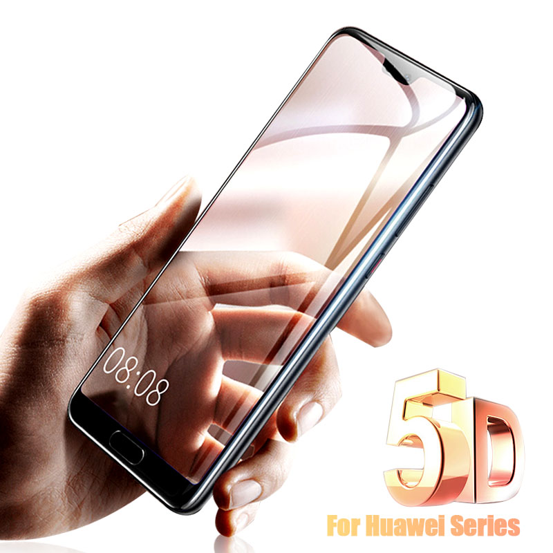 5d p10 case for huawei p20 lite cover tempered glass for huawei p20 p10 lite mate 10 pro nova 3e 2 plus v9 protective glass film