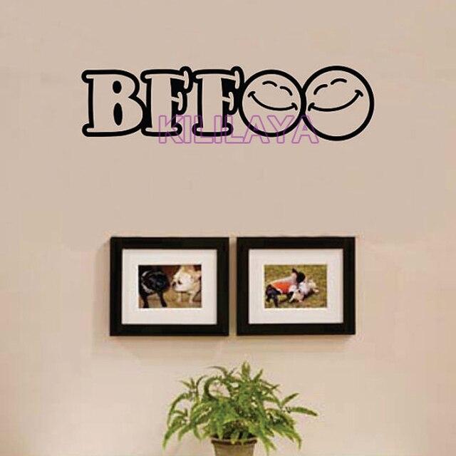 BFF Best Friends Forever Vinyl Wall Sticker For Kids Teens Children Room Art Wallpaper Home