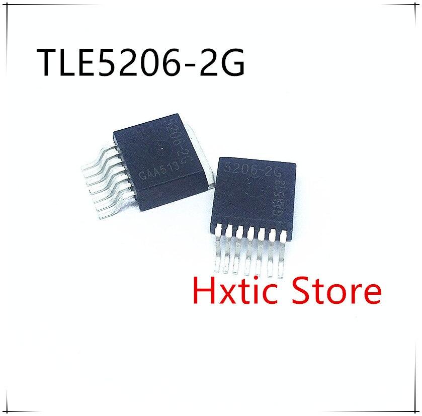 10PCS/lot New Original TLE5206-2G TLE5206-2 5206-2G TLE5206 Chip IC TO-263