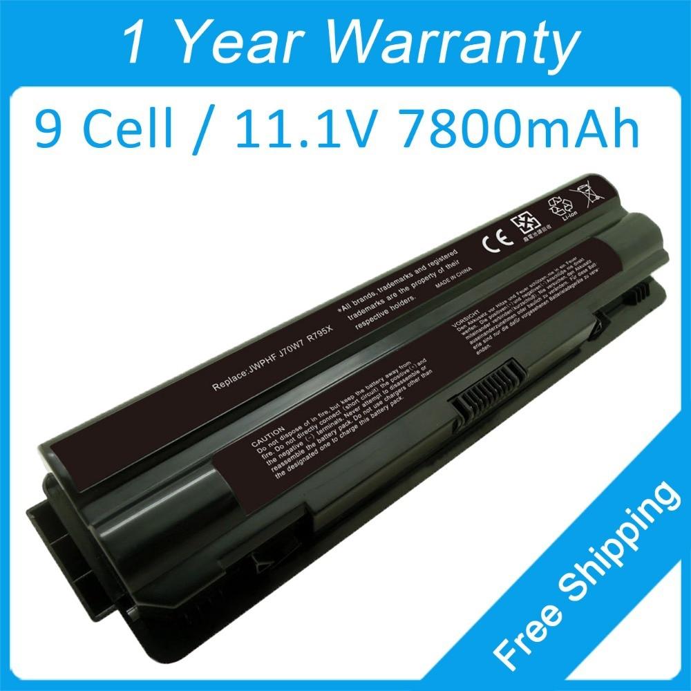 9 Cell Laptop Battery For Dell XPS 15 17 L502x L702x L401x XPS15D 312-1127 991T2021F P09E001 P09E002 P11F001