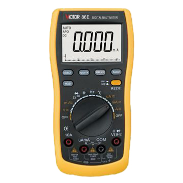 Victor Resistance Testing Tool Volt Amp Ohm Meter Digital Multimeter VICTOR86E victor 6056d digital clamp meter