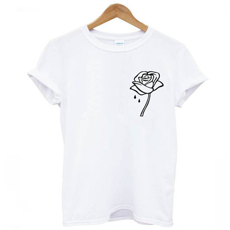 Soatrld Humor Tea Print T Shirt For Women 7