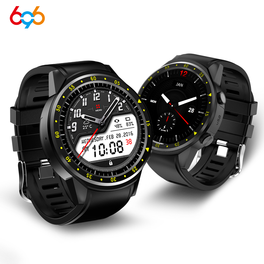 696 F1 Sports GPS montre intelligente hommes F1 avec Support d'appareil photo podomètre Bluetooth 4.0 SIM carte montre-bracelet pour IOS Android téléphone