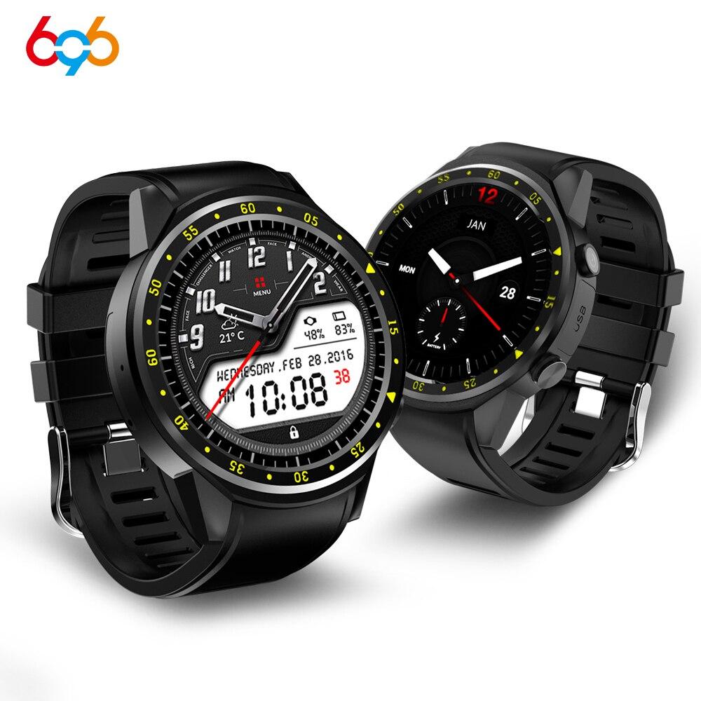 F1 montre intelligente hommes carte SIM sport SmartWatch GPS soutien podomètre Bluetooth 4.0 caméra montre-bracelet femmes pour IOS Android téléphone - 2