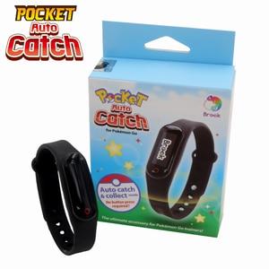 Image 1 - Brook für Bluetooth Armband Uhr Armband Tasche Auto Fangen Für Pokemon Gehen Plus Smart Armband Für IOS & Android