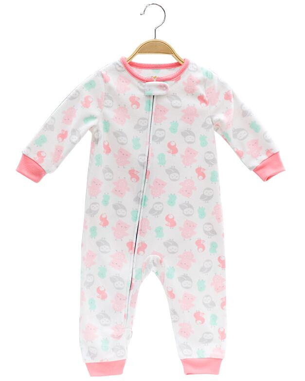 d2d1fcd53 Dropwow 2018 Baby clothes bebes jumpsuit collar fleece newborn ...