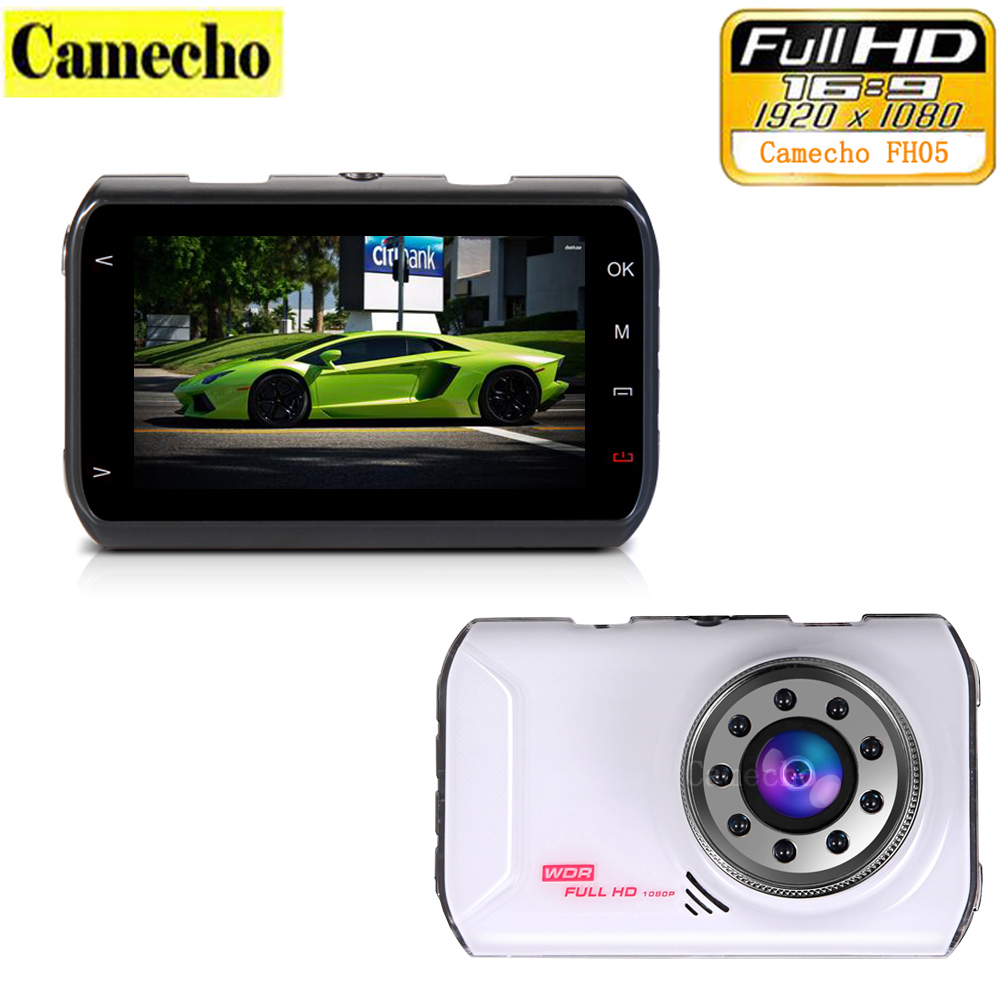 100 Original Novatek 96223 Car DVR Camera FH05 Dashcam Full HD 1080P Video Registrator Recorder G