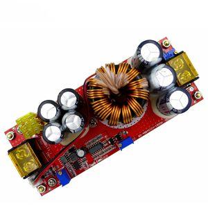 Image 2 - 1800W 40A DC DC DC מתח קבוע זרם קבוע Boost ממיר מגביר 10 60V על ידי מאוורר עבור 12 90V Boost כוח מודול