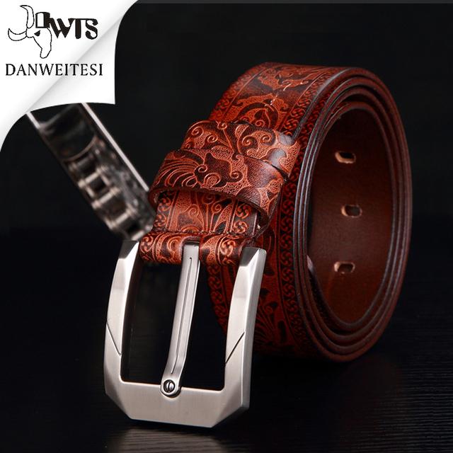 [Dwts] nuevo mens cinturones de lujo top homme ceinture correa de cuero de diseño hombres de alta calidad