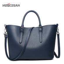 Large Capacity PU Leather Handbags Women Bags Pu Leather Shoulder Bag Casual Tote Bags Female Famous Brands Luxury Shoulder Bag все цены