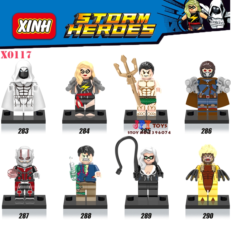 80pcs starwars superhero Movie Namor Sabretooth building blocks bricks for girl boy house games kids children toys iluminador