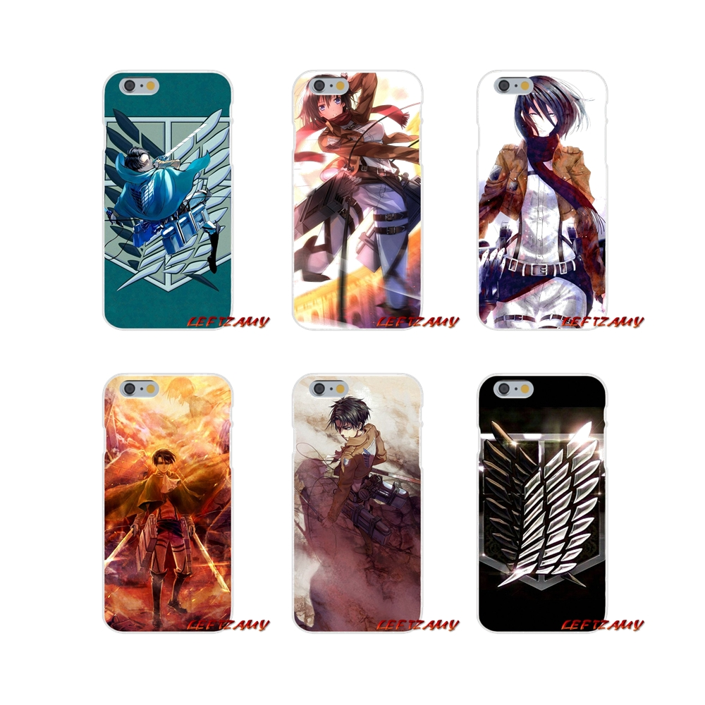 For Huawei P Smart Mate Y6 Pro P8 P9 P10 Nova P20 Lite Pro Mini 2017 Attack on Titan Mikasa Japan Accessories Phone Shell Covers