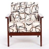 Simple Fashion Sofa Bar Chair Tea Coffee House Stool Wood Frame Cloth Seat Material Free Shipping