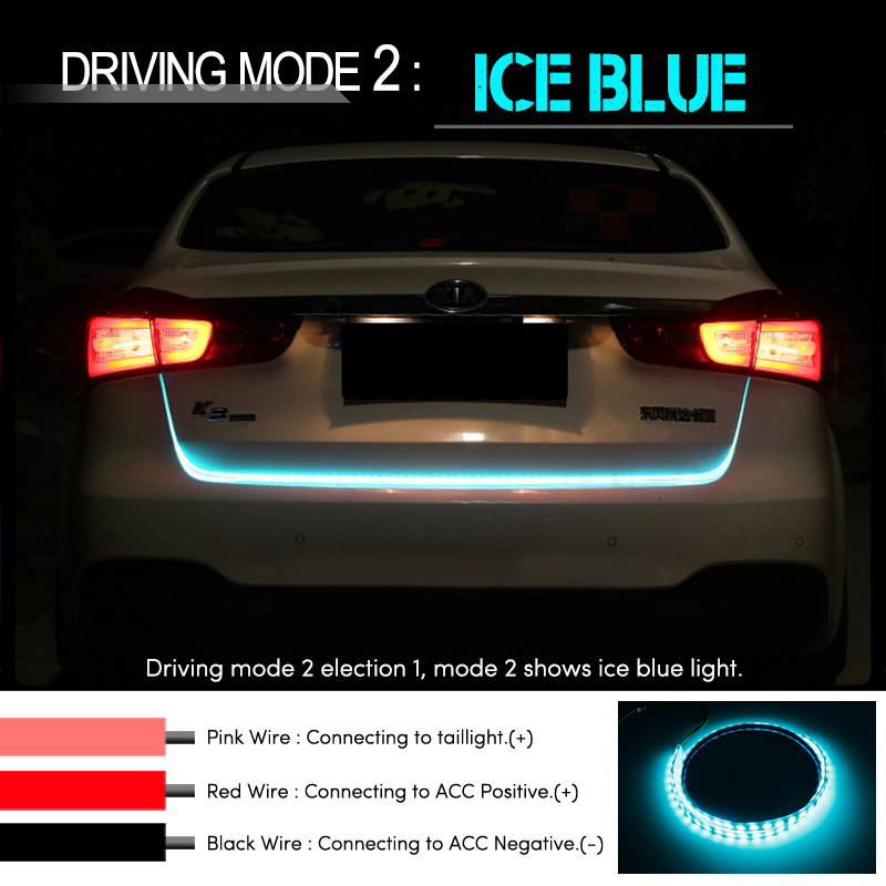 Automobiles & Motorcycles 2 Pcs Led Drl Daytime Running Light Car Styling Dynamic Streamer Flow Amber Turn Signal Warning Steering Fog Day Lamp Rich And Magnificent