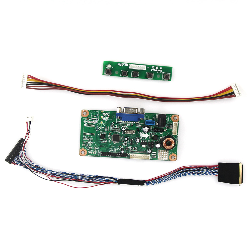 M.RT2270 LCD/LED Controller Driver Board(VGA)  For LP125WH2(SL)(B3)  LVDS Monitor Reuse Laptop 1366x768