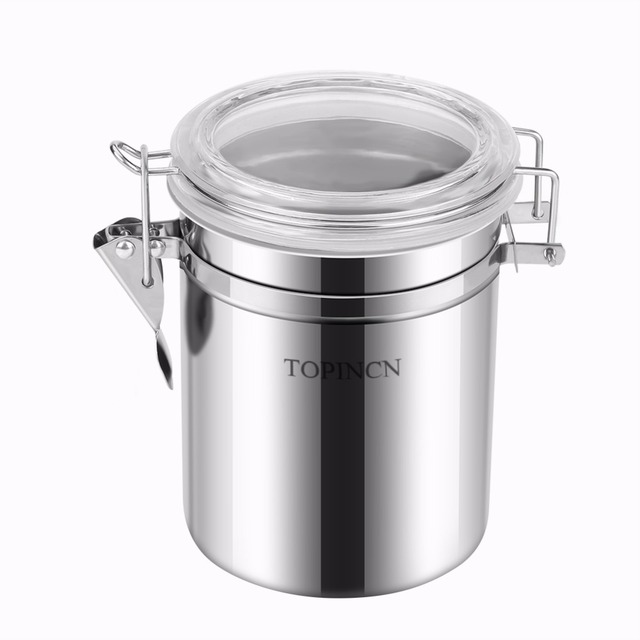 Stainless Steel Kitchen Food Storage Container Bottle Sugar Tea