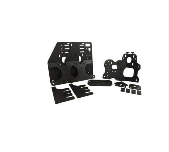 где купить ooznest OX CNC ALUMINIUM PLATES KIT Gantry plates kit for 23NEMA MOTOR joint plate back X axis/front plate set Spacer block дешево