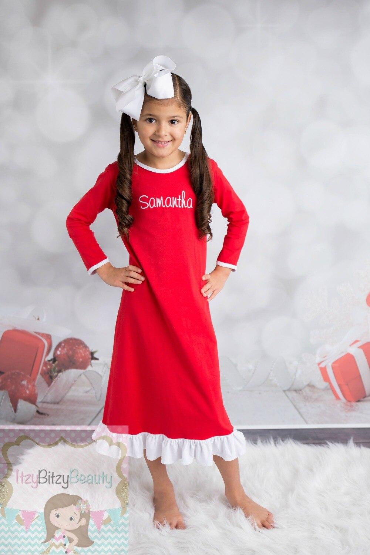 Toddler Christmas Pajamas Personalized