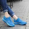 SEANUT 2017 Fashion Breathable Outdoor Walking Shoes For Women Trainers Flats Shoes Women Casual Shoes Lace Up Ladies Shoes