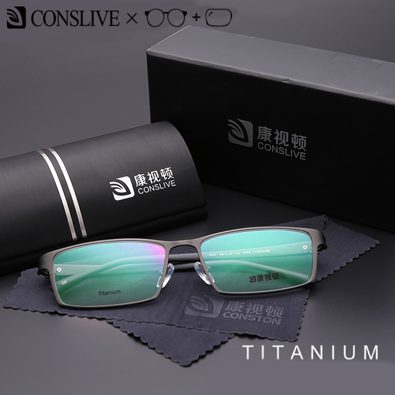 2e9ace6d41103 Titanium Mens Prescription Glasses Optical Glasses for Men Dioptric  Spectacle Frame Eyeglasses Blue Light Photochromic