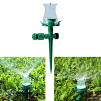 Garden Sprinkler Lawn Irrigation Tools Durable LED Sprinklers Spray Nozzle Plant Watering Drippers Sprinkler