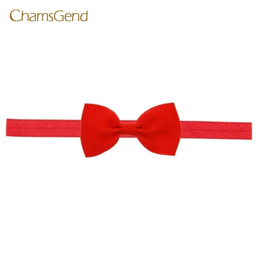 Coolbeener fashion cute Kids Girls Mini Bowknot Hairband Elastic Headband Jan6 delicate hot 2016 fashion baby new lovely baby kids girls mini bowknot hairband elastic headband ju15