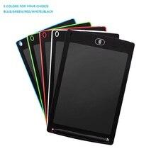 8.5 นิ้ว LCD Handwriting Board Highlight LCD เด็กกระดานวาดภาพอิเล็กทรอนิกส์มือวาดแผ่น Energy กระดานดำ