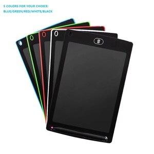 Image 1 - لوح للكتابة اليدوية بشاشة إل سي دي 8.5 بوصة لوحة رسم LCD للأطفال لوحة إلكترونية مرسومة يدويًا لوحة طاقة خفيفة السبورة