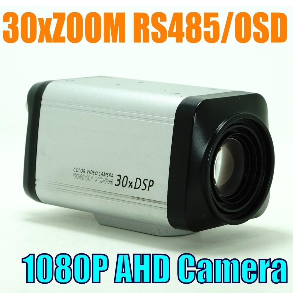 1080P 2MP AHD cctv surveillance 30x auto focus ZOOM camera 2 0mp all in one camera 30x 3 90mm wdr box camera ahd auto iris dsp 30x digital zoom surveillance cctv ahd camera 1080p