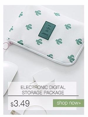 Travel Bag Electronic Digital Storage