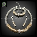 New arrival Indian jewelry sets with silver plating for wedding FHK1322