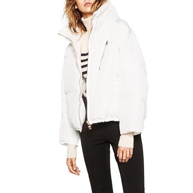 Манто Femme женские Зимние Теплый Короткий Пуховик Толщиной Свет Черный Белый Пальто Parka Женщин Пиджаки Abrigos Mujer