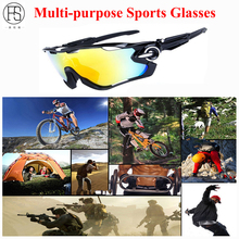 Polarized Sports Sunglasses Men Tactical Sunglasses MTB Bicycle Gafas Travelling Cycling Glasses Hiking Oculos Hunting Glasses