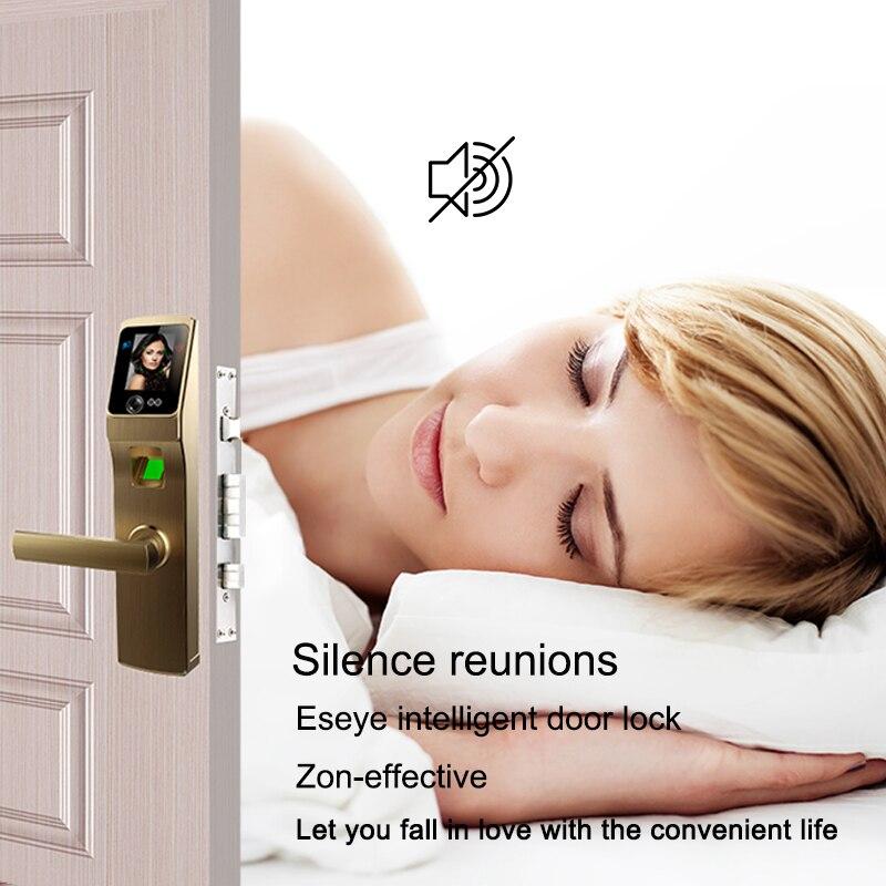 Eseye Aqara serrure de porte cylindre empreinte digitale écran tactile serrure de porte intelligente faciale biométrique intelligente électronique serrure de porte poignée