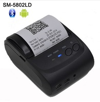58mm Wireless Portable Bluetooth Printer Android Mobile Printer Mini Thermal Receipt Printer With SDK Belt Case