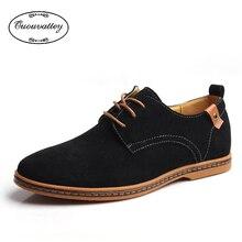 2016 New men's Genuine Leather casual shoes men spring autumn tide men's oxfords shoes large size 38-48