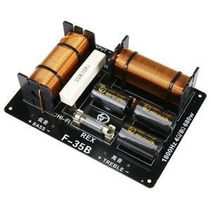 Image 2 - GHXAMP 680 واط 2 طريقة كروس 1800 هرتز ثلاثة أضعاف باس المتكلم كروس 4 8ohm ل المهنية مكبر صوت للمسرح 1 قطعة