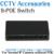 6 puertos de conmutación s switch poe + 2 puertos dc escritorio para Cámaras IP de trabajo con Mini Divisor de 8 Puertos POE Swith de energía DC12V suministro