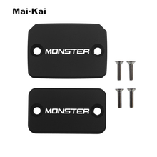 MAIKAI CNC Aluminum Brake Fluid Fuel Tank Cap FOR Ducati Monster 695 13-14 696 08-14 796 10-15