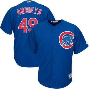 MLB Youth Chicago Cubs Jake Arrieta Baseball Royal Alternate Cool Base  Player Replica Jersey 49a29765b
