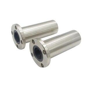 1 шт. 6 мм/8 мм/10 мм/12 мм LMF6LUU/LMF8LUU/LMF10LUU LMF длинный тип серии круглый фланец муфта линейный подшипник движения для стержневого вала