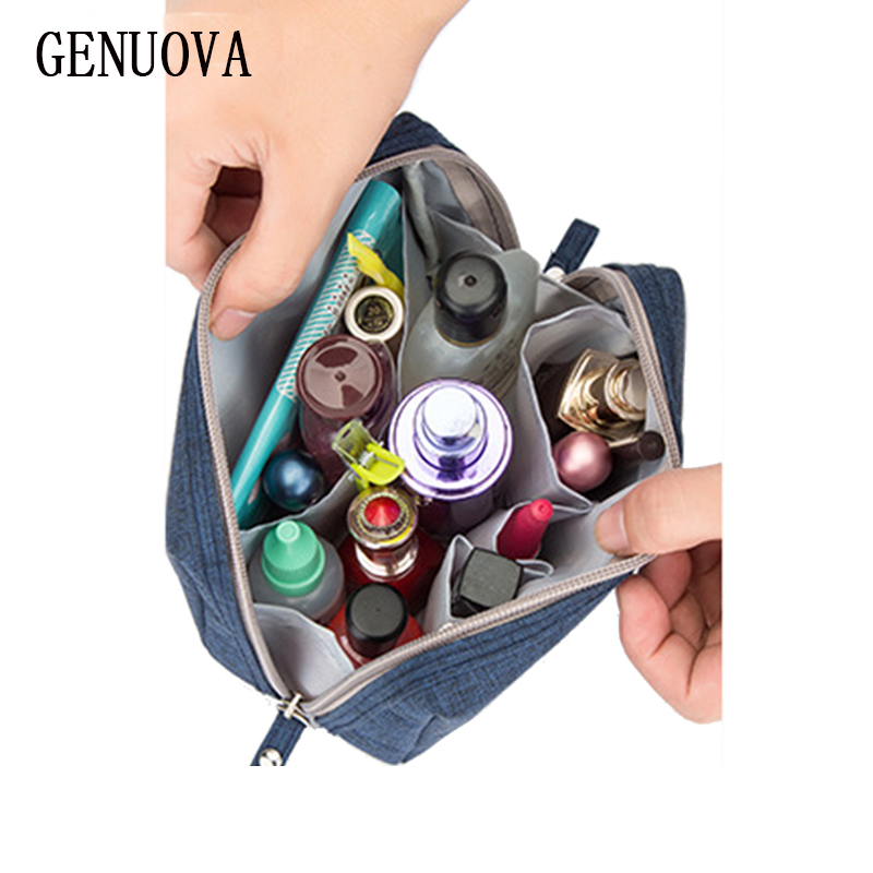 Beautician Vanity Necessaire Trip Women Travel Toiletry Wash Make Up Storage Kit Makeup Case Cosmetic Bag Organizer Accessories